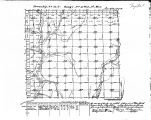 Iowa land survey map of t070n, r035w