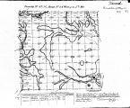Iowa land survey map of t097n, r024w