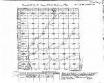 Iowa land survey map of t089n, r044w
