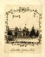 Charlotte Geddes Reid Bookplate