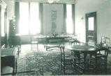 Dining room set, The University of Iowa, 1920s
