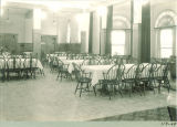 Dining room in Law Commons, the University of Iowa, October 24, 1934