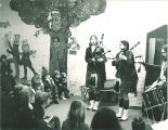Scottish Highlanders at Iowa City Public Library, The University of Iowa, March 23, 1974