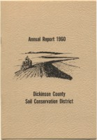 Dickinson County Soil Conservation District Annual Report - 1960.