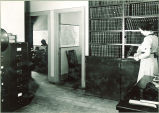 Geology department office, The University of Iowa, 1930s