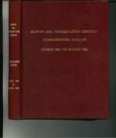 1965 to 1969 Hardin Soil Conservation District Commissioners Minutes