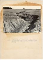 1930's - Gully cuts through farmland