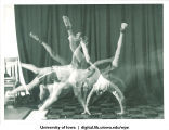 Cartwheel sequence, The University of Iowa, 1960s