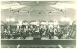 Director Frank Kendrie and University of Iowa orchestra in Iowa Memorial Union, November 1932