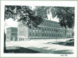 Chemistry-Botany-Pharmacy Building on corner of Market and Capitol Streets, The University of Iowa, 1920s