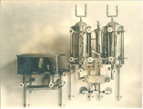 Equipment in the sterilization room at Trowbridge Hall, The University of Iowa, 1917