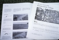 Conservation tillage and terrace brochures.