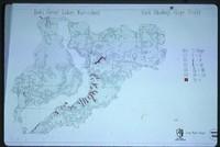 Iowa Great Lakes Watershed - East Okoboji Slope Study Map.
