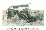 Farm machinery, Lacombe, South Central Alberta, Canada, 1944