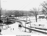 Burlington Street Bridge, Iowa City, Iowa, ca. 1920