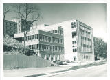 Southeast view of Hillcrest Hall, the University of Iowa, circa 1960