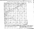 Iowa land survey map of t090n, r043w