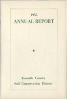 1953 Kossuth County Soil and Water Conservation District Annual Report