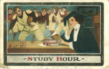 """Study hour,"" 1909"