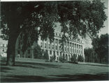 MacLean Hall seen from northwest, the University of Iowa, 1970s?