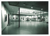 Exhibition hall in the Art Building, The University of Iowa, 1960s
