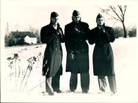 0016_Three Cadets in Snow
