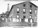 Rate Glove Factory, Iowa City, Iowa, 1908