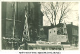 Engineers' parade, The University of Iowa, 1917