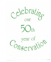 50th Year Of Conservation Invitation