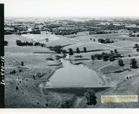 Grade stabilization structure B-7 in Moulton watershed, 1963