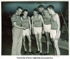 Mile relay team, The University of Iowa, March 19, 1952