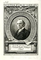 Robert Charles Billings Bookplate