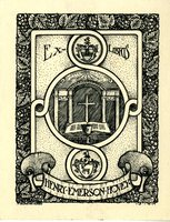 Henry Emerson Hovey Bookplate