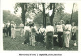 Social picnic, The University of Iowa, 1930s