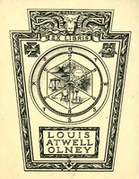 Louis Atwell Olney Bookplate