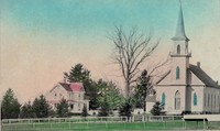 St. Paul Lutheran Church in Garnavillo, Iowa -1915