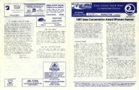 Cedar County Soil and Water Conservation District Newsletter, 1987