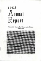 1953 Poweshiek County Soil and Water Conservation District Annual Report