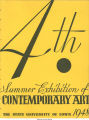 Fourth summer exhibition of contemporary art, University of Iowa, June - July, 1948