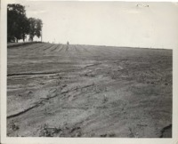 Erosion on the Johnston farm.