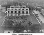 MacLean Hall event, The University of Iowa, 1920s