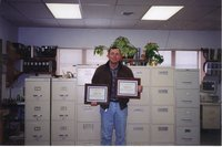 2000 - Thomas Wagner Shows Award Certificates