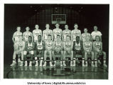 1955-56 Iowa basketball team, The University of Iowa, November 1, 1955