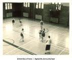 Six-on-six women's basketball, The University of Iowa, 1937