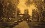 The Oskaloosa City Park in the Late 1800's, Iowa