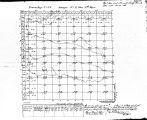 Iowa land survey map of t084n, r002w