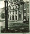 Capitol Street entrance to Chemistry-Botany-Pharmacy Building, The University of Iowa, 1920s