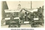 Mecca Day parade float on the Pentacrest, The University of Iowa, 1919