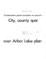 City Spar Over Arbor Lake Project