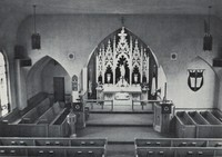 St. Paul Lutheran Church in Garnavillo, Iowa -1978 interior